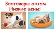 Аксессуары для животных оптом. Зоотовары оптом.